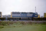 CSX 8203 in a SB freight