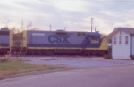 CSX 2304 with the L.I.F.E. logo