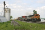 BNSF eastbound stack train