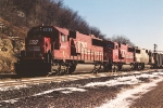 Westbound coal train