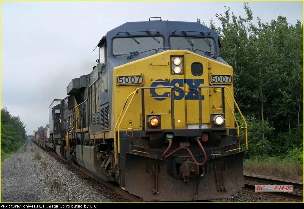 CSX 5007 08/14/2005