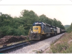 NS delivering the PBSR unit to Opelika--the beginning of the end of NS ownership