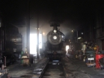 N&W 475 Rests in the Engine Sheds