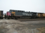 UP 6225 on eastbound UP loaded coal train