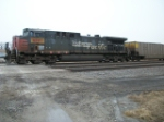 UP 6281 DPU on eastbound UP loaded coal train