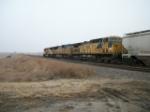 UP 6726 on westbound UP manifest train
