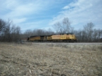 UP 6621 eastbound UP loaded coal train