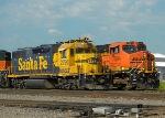 BNSF Timmer and ES44 Stack