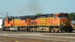 BNSF 4317 Along with a SD75M