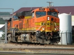 BNSF 7671 comeing of the Avard Sub