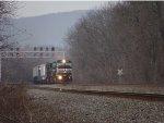 NS 6792 On A Coal Train