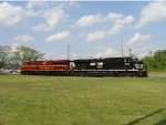 PRR Heritage Unit 8102 and NS 8115 on FC-81