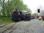 W&WRR 98 and 58 Side-By-Side