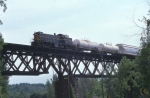 Green Mountain Railroad freight train