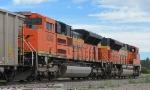 BNSF 9382 & 9273