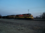 UP 7127 westbound UP empty coal train