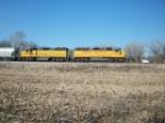 UP 2556 eastbound UP manifest train