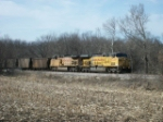 UP 7337 eastbound UP loaded coal train