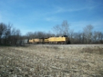 UP 7101 eastbound UP loaded coal train