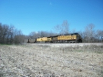UP 6302 eastbound UP loaded coal train