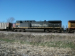 UP 6395 on eastbound UP loaded coal train