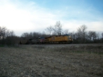 UP 7752 eastbound UP loaded coal train