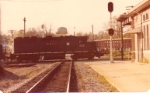 WofA northboud local hammers CofGA diamond at Opelika in the 1970s