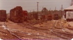 Chester Yard--Montgomery AL ready tracks with WofA agency and yard office to the right