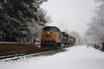"A Southbound Manifest ""Dashing Through the Snow"""