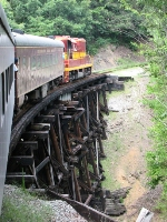 NCSTL 710 on top of the Hiwassee Loop