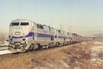 "Late ""Empire Builder"" rolls east"