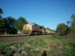 UP 8532 westbound UP manifest train