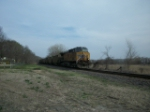 UP 6302 westbound UP empty coal train