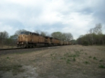 UP 6880 eastbound UP loaded coal train