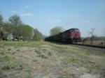 UP 6355 eastbound UP coal train DPU