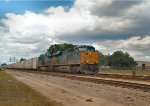 CSX 3107 & 3174 bringing the Juice Train southbound