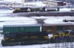 Overlooking Anchorage Yard