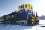 Alaska Railroad 1552 switching the south end of Anchorage yard