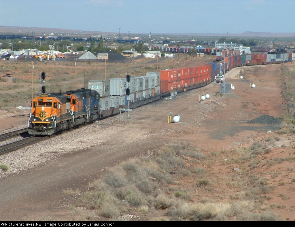 BNSF Westbound Double Stack