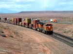 BNSF Intermodal led by BNSF 4536