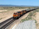 BNSF 1117 in Lead