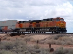 BNSF 4851 in the lead