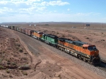 BNSF 1095 Leads Mixed Freight