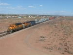 BNSF 6954 in the Lead