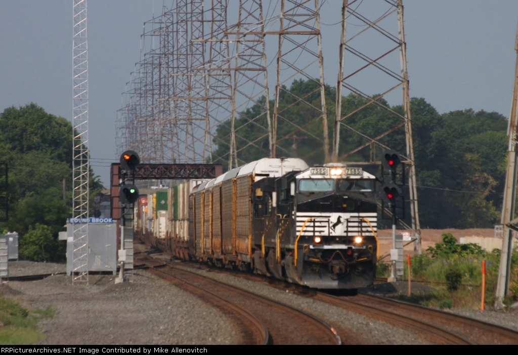 12Z at the signals at CP Bound Brook