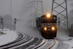 22V blasts through the snow at CP-Bound Brook