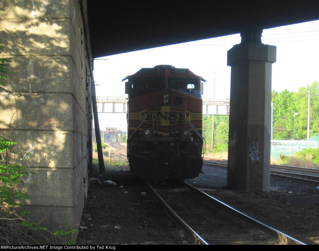 BNSF 4367