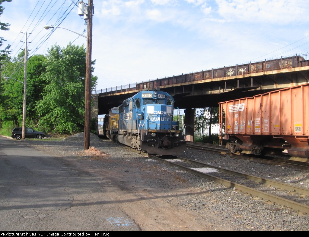 NS 3380, UP 6567 & UP 7095