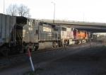 NS 7578, BNSF 4817, BNSF & NS 9249