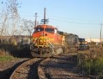 BNSF 4913 & CSX 48 on the siding